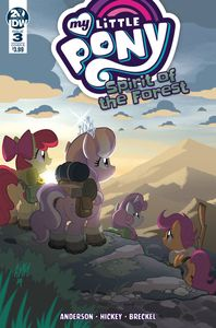 [My Little Pony: Spirit Of The Forest #3 (Cover B Fleecs) (Product Image)]