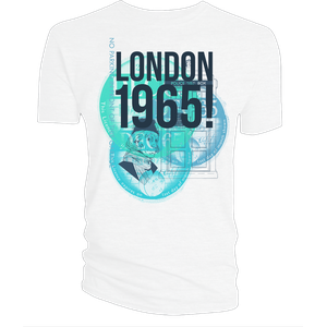 [Doctor Who: Flashback Collection: T-Shirt: London 1965! (White) (Product Image)]