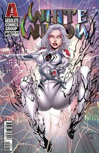 [White Widow #5 (Cover B Mychaels Silver Holographic Foil Logo) (Product Image)]