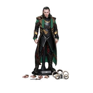 [Thor: The Dark World: Hot Toys Deluxe Action Figure: Loki (Product Image)]