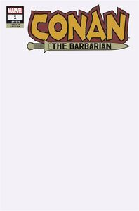 [Conan The Barbarian #1 (Blank Variant) (Product Image)]
