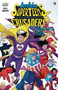 [Archie Superteens Vs Crusaders #2 (Cover A Williams Connectin) (Product Image)]