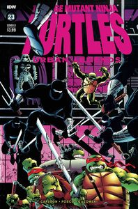 [Teenage Mutant Ninja Turtles: Urban Legends #23 (Cover B Fosco & Larsen) (Product Image)]