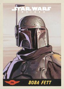 [Star Wars Insider #206 Boba Fett Trading Card Variant (Product Image)]