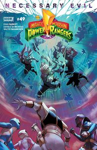 [Mighty Morphin Power Rangers #49 (Cover A Campbell) (Product Image)]