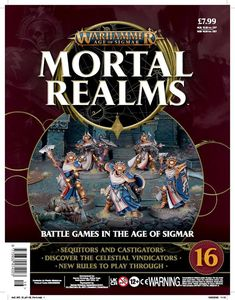 [Warhammer: Age Of Sigmar: Mortal Realms #16 (Product Image)]