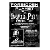 [Ingrid Pitt signing The Ingrid Pitt Bedside Companion for Vampire Lovers (Product Image)]