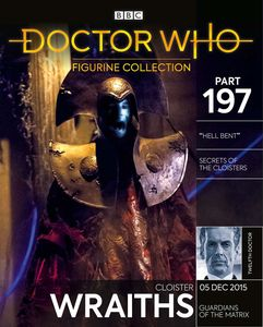 [Doctor Who Figurine Collection #197: Cloister Wraith (Product Image)]