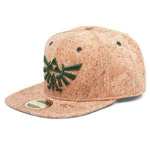 [Legend Of Zelda: Snap Back Cap: Cork Triforce Logo (Product Image)]