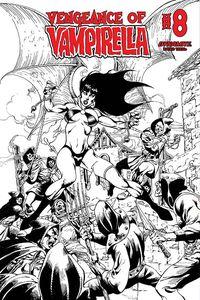 [Vengeance Of Vampirella #8 (Castro B&W Bonus Variant) (Product Image)]