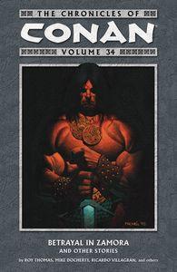 [Chronicles Of Conan: Volume 34: Betrayal In Zamora (Product Image)]