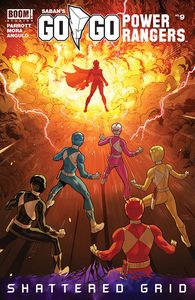 [Go Go Power Rangers #9 (Main & Mix) (Product Image)]