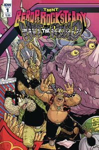 [TMNT: Bebop & Rocksteady Hit The Road #1 (Cover A Pitarra) (Product Image)]