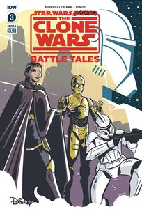 [Star Wars Adventures: Clone Wars #3 (Cover A Charm) (Product Image)]