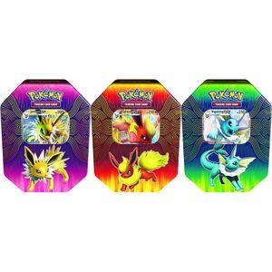 [Pokemon: Trading Card Game: Elemental Power Tin: Vaporeon/Jolteon/Flareon (Product Image)]