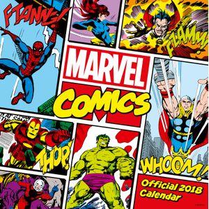 [Marvel Comics Classic: 2018 Square Calendar (Product Image)]