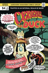 [The cover for Cerebus The Duck (One Shot)]