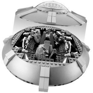 [Doctor Who: Character Building Set: Dalek Ship (Product Image)]