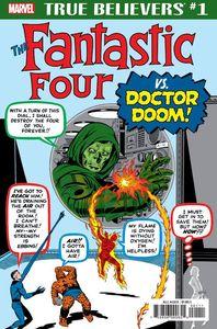 [True Believers: Fantastic Four Vs Doctor Doom #1 (Product Image)]