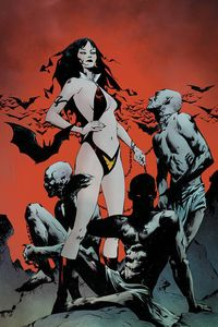 [Vampirella: Dark Powers #1 (Vampi Demons Alt Colour Variant) (Product Image)]