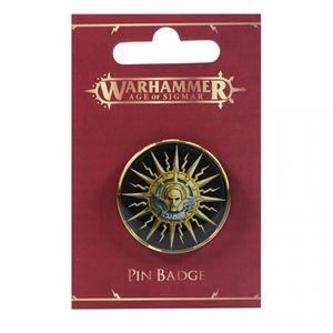 [Warhammer: Age Of Sigmar: Enamel Pin Badge: Stormcast Eternal (Product Image)]