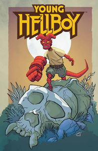 [Young Hellboy: The Hidden Land #1 Forbidden Planet Exclusive Rousseau Variant (Signed Edition) (Product Image)]