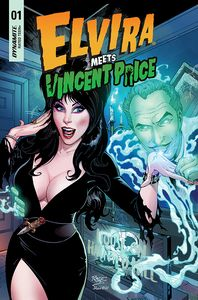 [Elvira Meets Vincent Price #1 (Cover C Royle) (Product Image)]