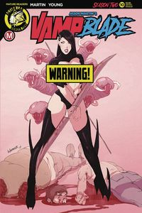 [Vampblade: Season Two #10 (Cover D Whitaker Risque) (Product Image)]