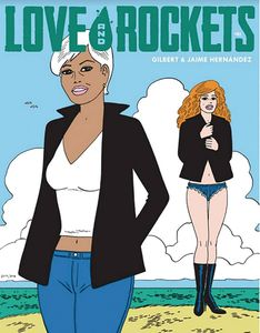 [Love & Rockets Magazine #1 (Gilbert Limited Variant Cover) (Product Image)]