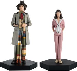 [Doctor Who Figurine Collection: Companion Set #3: Fourth Doctor & Sarah Jane (Product Image)]