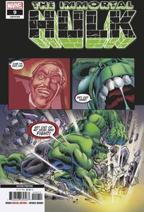 [Immortal Hulk #9 (2nd Printing Bennett Variant) (Product Image)]