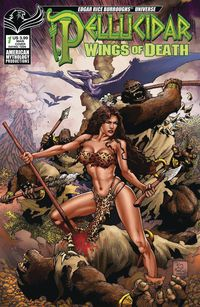 [The cover for Pellucidar: Wings Of Death #1 (Cover A Martinez)]