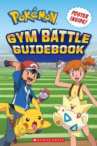 [Pokemon Gym Battle Guidebook (Product Image)]
