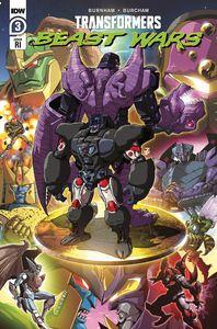 [Transformers: Beast Wars #3 (Josh Perez Variant) (Product Image)]