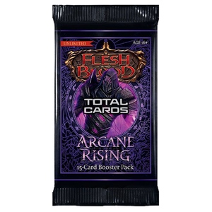 [Flesh & Blood: Trading Card Game: Arcane Rising Unlimited: Booster Pack (Product Image)]