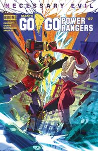 [Go Go Power Rangers #27 (Cover A Main Carlini) (Product Image)]