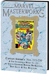 [Marvel Masterworks: Captain AmericaL Volume 12 (DM Edition Variant Hardcover) (Product Image)]