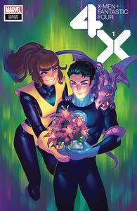 [X-Men: Fantastic Four #1 (Hetrick Flower Variant) (Product Image)]