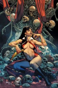 [Sacred Six #8 (Anacleto Virgin Variant) (Product Image)]
