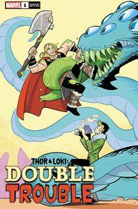 [Thor & Loki: Double Trouble #1 (Bustos Variant) (Product Image)]