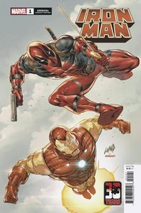 [Iron Man: Annual #1 (Liefeld Deadpool 30th Variant) (Product Image)]