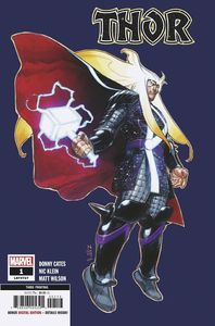 [Thor #1 (3rd Printing Klein Variant) (Product Image)]