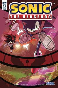 [Sonic The Hedgehog #11 (Cover B Yardley) (Product Image)]