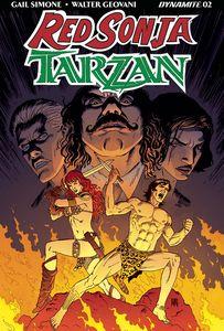 [Red Sonja/Tarzan #2 (Cover B Geovani) (Product Image)]