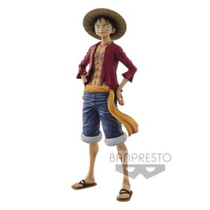 [One Piece Grandista: The Grandline Men Statue: Monkey D Luffy (Product Image)]