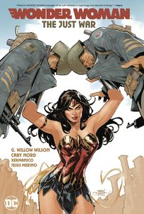 [Wonder Woman: Volume 1: The Just War (Product Image)]
