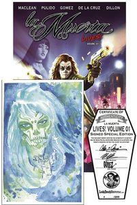 [La Muerta Lives: Volume 1 (Signed Edition - Hardcover) (Product Image)]