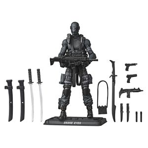 [GI Joe: Retro Collection Action Figure: Snake Eyes (Product Image)]