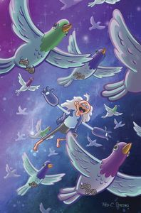 [Bravest Warriors #36 (Subscription Stresing Variant) (Product Image)]
