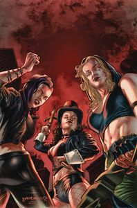 [Van Helsing Vs League Monsters #3 (Cover A Barrionuevo) (Product Image)]